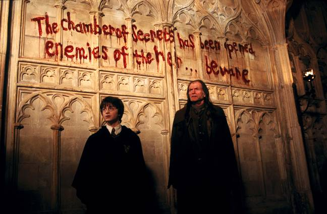 Filch is always aware of trouble in the castle (Credit: Warner Bros)