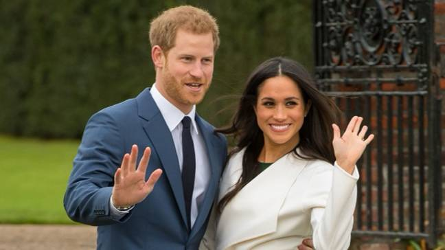 Meghan Markle and Prince Harry left their royal duties last year. Credit: PA