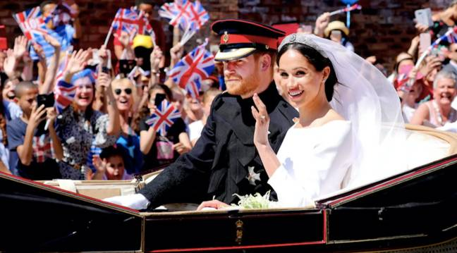 Harry and Meghan's wedding was watched by millions worldwide (Credit: PA)