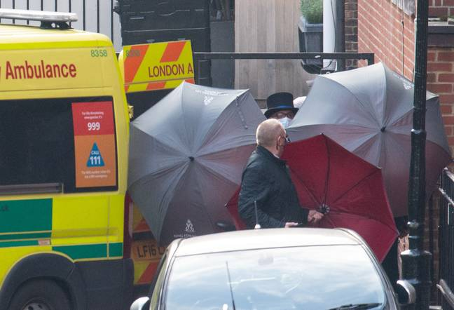 The Duke was taken by ambulance to a new hospital earlier this week (Credit: PA)