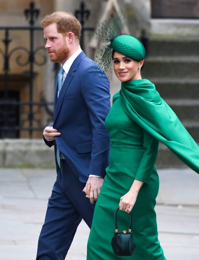 Meghan and Harry last appeared at the Commonwealth Day service back in March (Credit: PA)