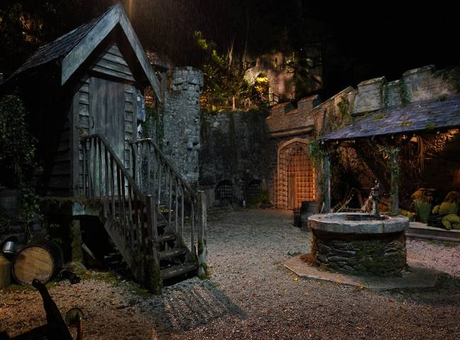 The site is reportedly haunted (Credit: ITV)
