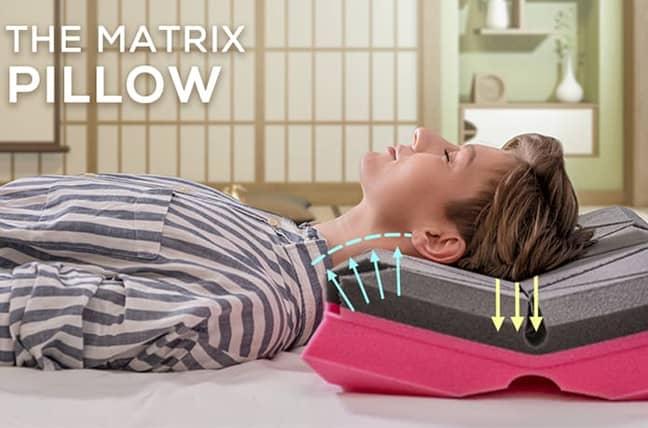 Say hello to the Matrix Pillow (Credit: Matrix Pillow/Indiegogo)