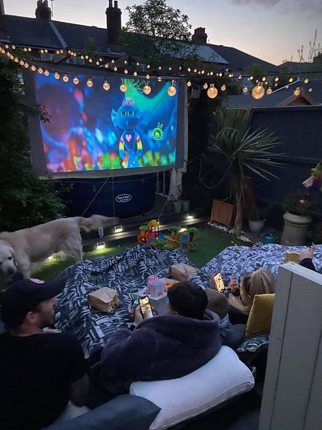 One woman organised a cinema trip without leaving the house (Credit: Sara Dacombe/Extreme Couponing and Bargains UK)