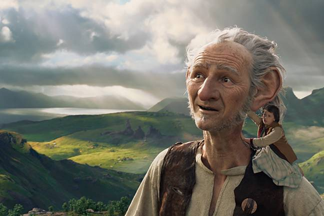 The BFG had already been adapted into a live action film (Credit: Disney)