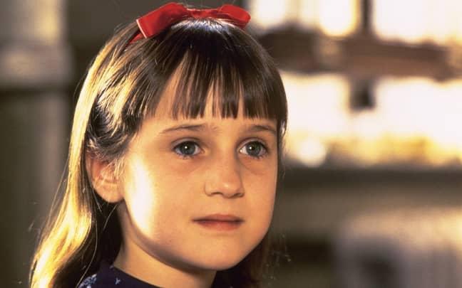 The 1996 version starred 90s film favourite Mara Wilson as Matilda (Credit: Jersey films)