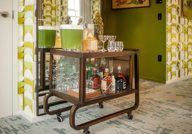 It's filled with period furniture from private collectors and local retailers (Credit: VisitLEX)