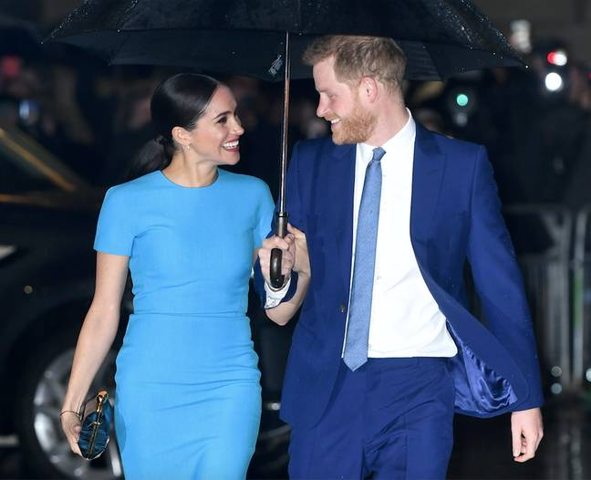 Harry and Meghan have launched their own podcast series (Credit: PA Images)