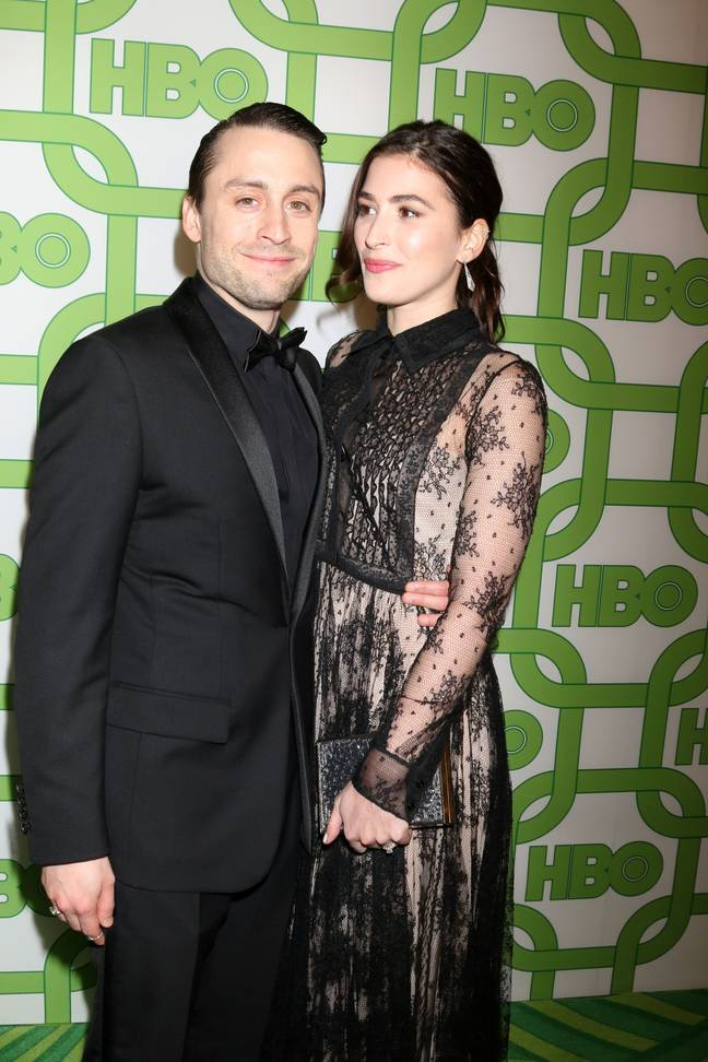 Kieran Culkin and his wife Jazz this year (Credit: PA)