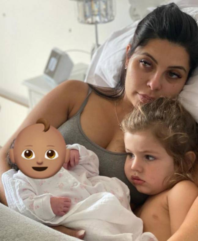 Cara opened up about the realities of pregnancy (Credit: Instagram/ Cara De La Hoyde)