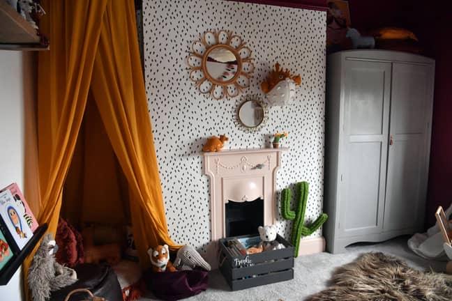 Her daughter's bedroom. Credit: WalesOnline/Rob Browne