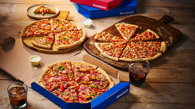 On the 4th January, Domino's will expand its already existing plant based range (Credit: Domino's)