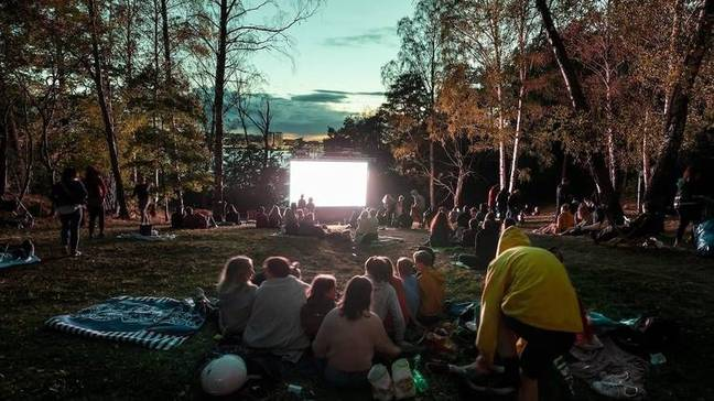Free Range Film Club will bring films to the capital parks and green spaces from July to September (Credit: Unsplash)