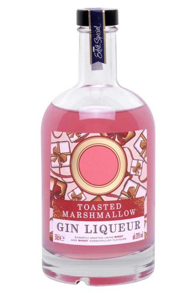 Toasted marshmallow gin liqueur is £10 a bottle and is great with prosecco. Credit: ASDA
