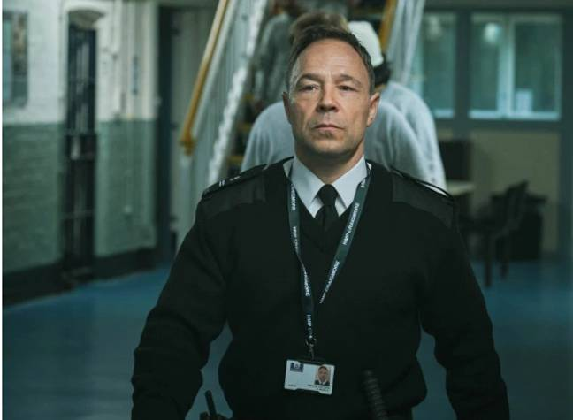 Stephen Graham stars as a security guard (Credit: BBC)