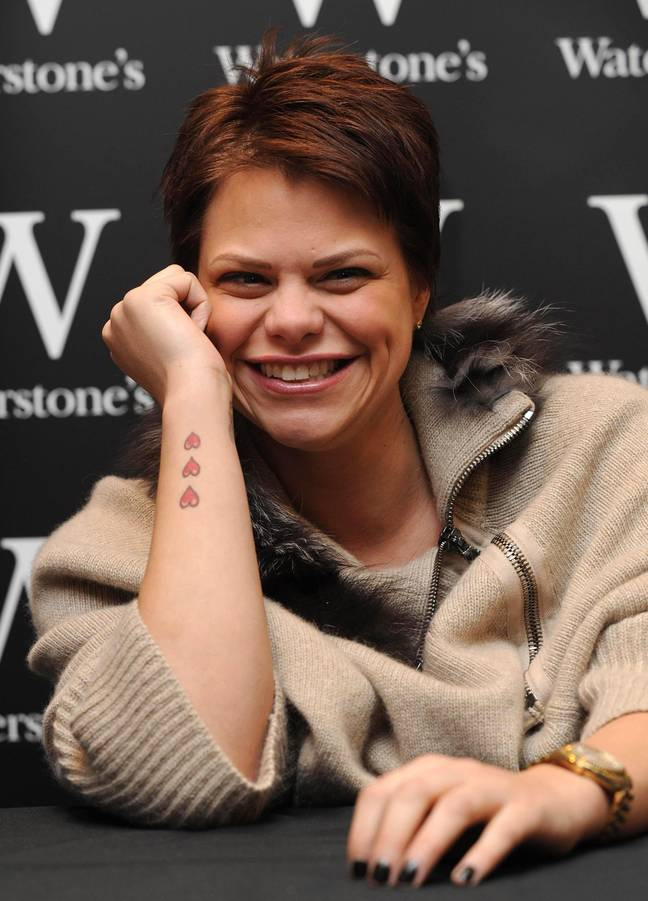 Reality star Jade Goody died of cervical cancer at the age of 27. Credit: PA Images