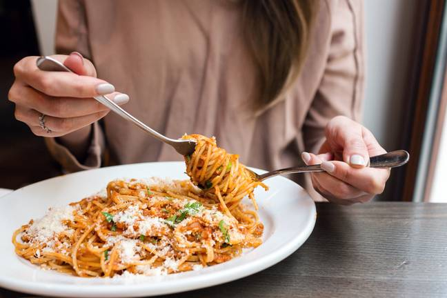 Pasta is a popular leftovers option for breakfast among millennials (Credit: Shutterstock)