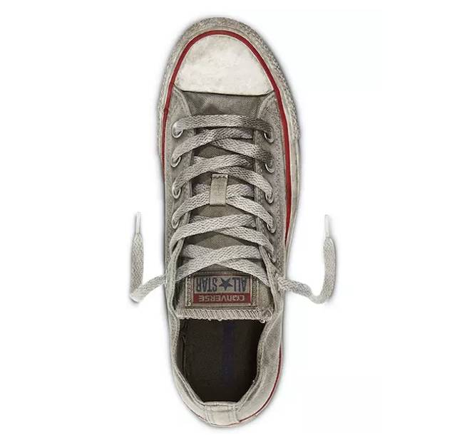 Converse are also selling pre-dirtied trainers (Credit: Converse)