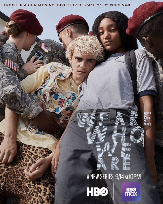 We Are Who We Are is set on a military base in Italy (Credit: HBO/BBC Three)