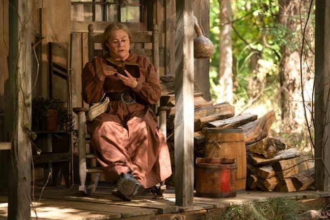 Oscar winner Kathleen Turner stars in Two Doors Down (Credit: Netflix)