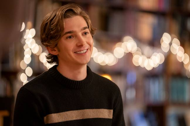 Austin Abrams as Dash in Dash & Lily (Credit: Netflix)