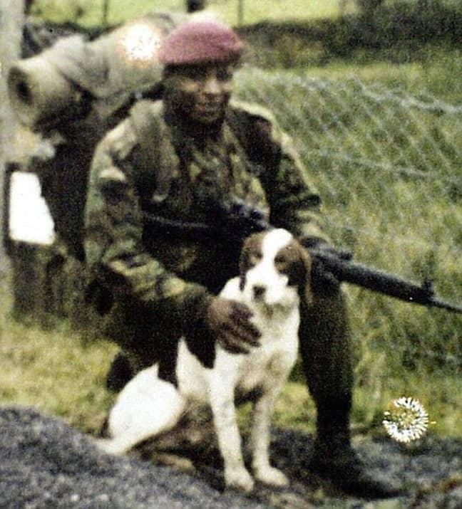 Christopher Alder served in the Falklands War (Credit: Fair Use)