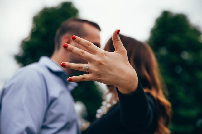 The bride wasn't happy when she found out the price (Credit: Pexels)