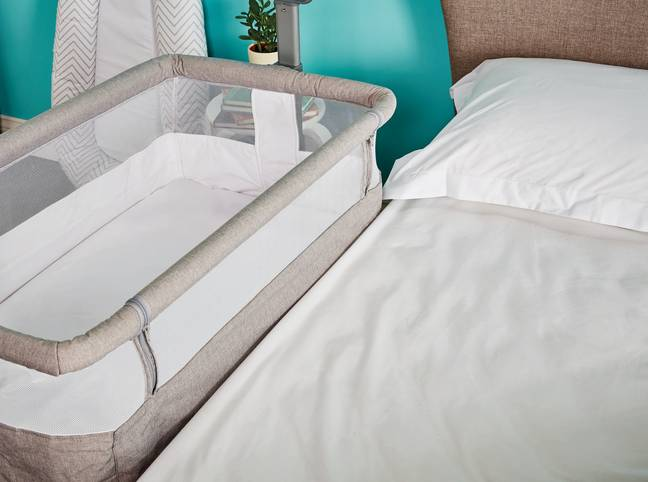 Highlights from the upcoming collection include Aldi's £79.99 Bedside Crib (Credit: Aldi)