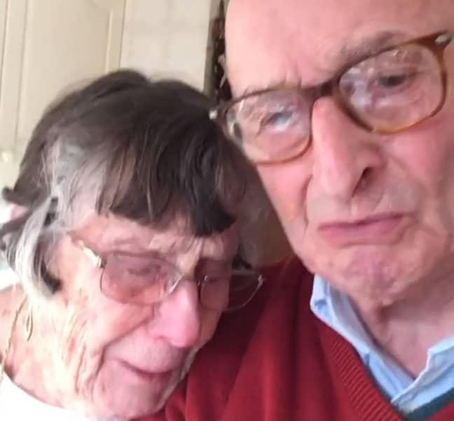 Pauline could be seen sobbing on Geoffrey's shoulder (Credit: Instagram/geoffreywalk)