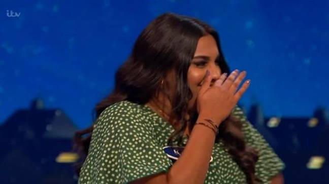 We were in hysterics at Kash's answer! (Credit: ITV)