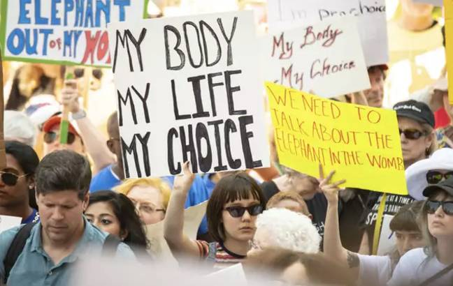 The anti-abortion movement is thriving in the US (Credit: PA)