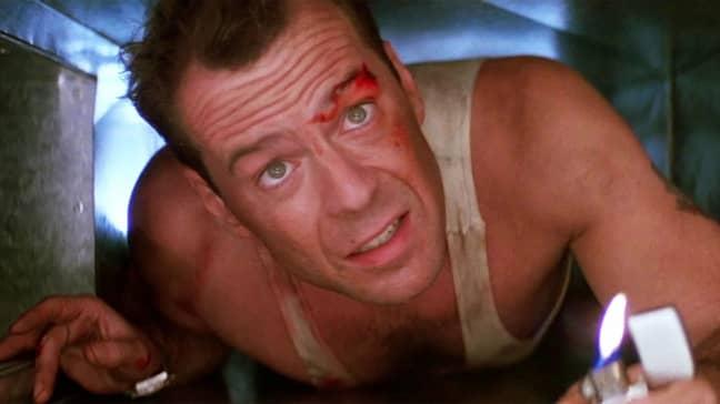 Bruce Willis stars as John McClane in the 1988 classic (Credit: 20th Century Fox)