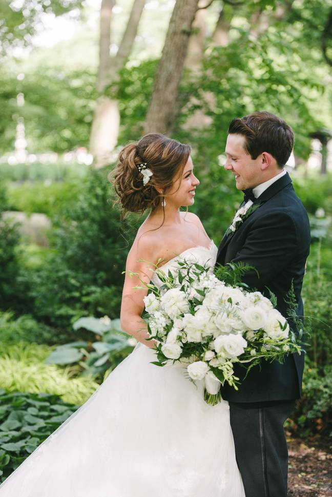 The Lockwoods tied the knot in June 2016 and struggled to conceive (Credit: Breanna Lockwood)