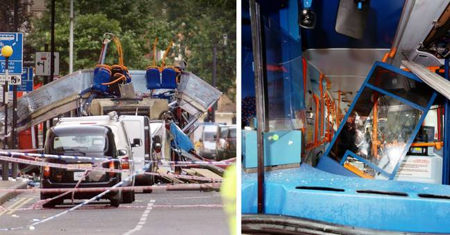 Four bombs exploded on public transport around London (Credit: PA/ Shutterstock)