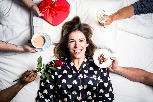34-year-old Amy is in search of love (Credit: Channel 4)