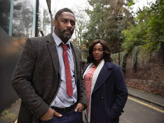 Idris Elba as DCI John Luther (Credit: BBC)