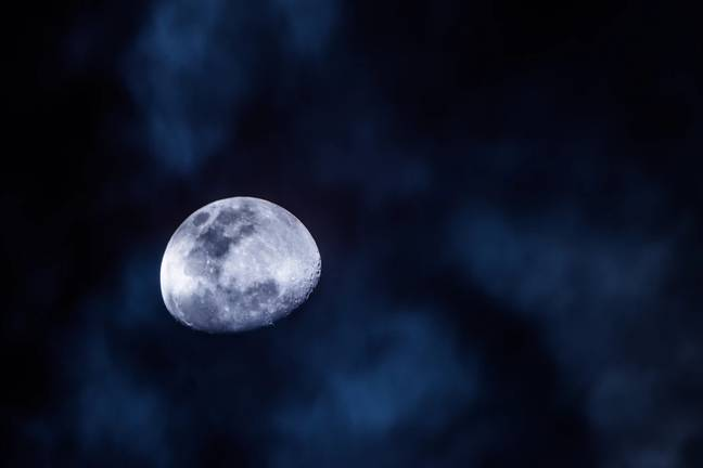 The blue moon is the 13th of the month (Credit: Unsplash)