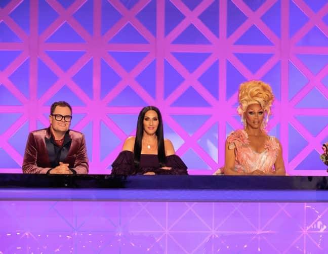 The Drag Race UK judges are back (Credit: BBC/ World Of Wonder)