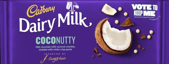 Are you team coconut? (Credit: Cadbury)