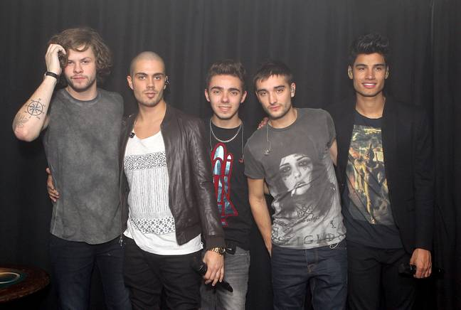 The Wanted boys are supporting Tom (Credit: PA Images)