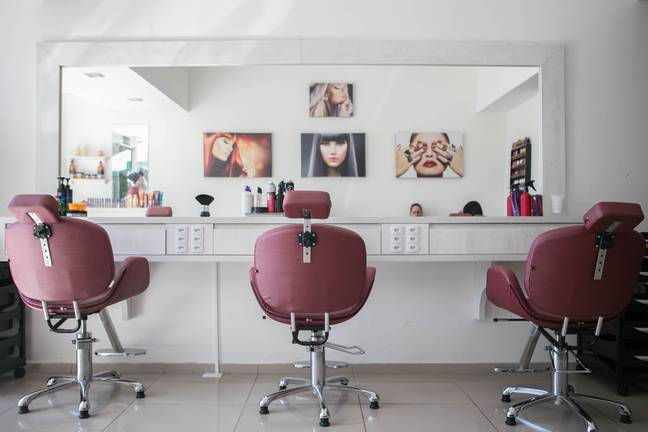 Salons could become safe havens for women (Credit: Unsplash)