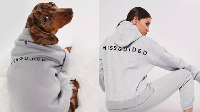 Last month, Missguided launched a collection of pup-appropriate loungewear (Credit: Missguided)