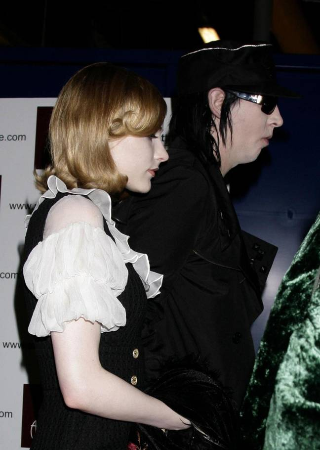 Wood and Manson in 2007 (Credit: PA)