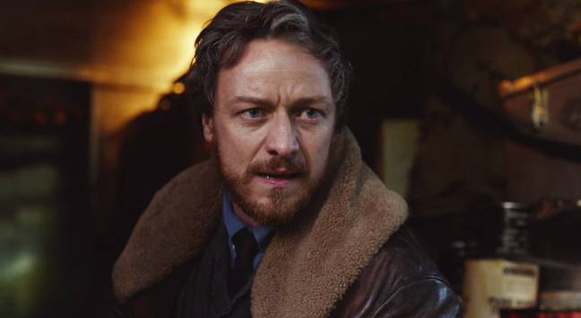 James McAvoy was cut from season two after filming was shut down (Credit: BBC)