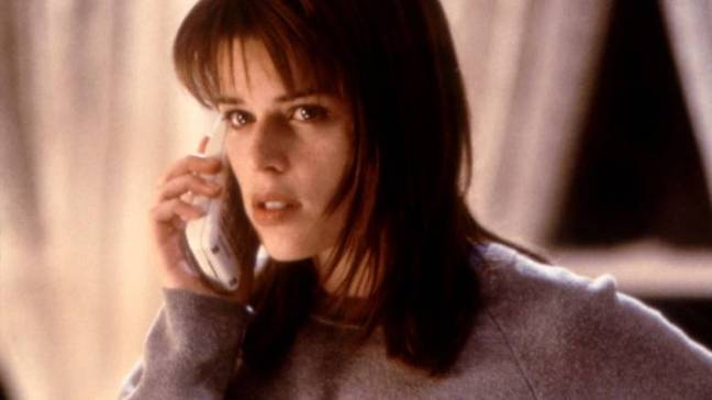 Neve Campbell played heroine Sidney Prescott in the Scream series (Credit: Scream)