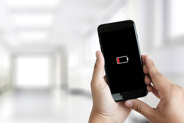 Everyone knows the struggle of low battery (Credit: Shutterstock)