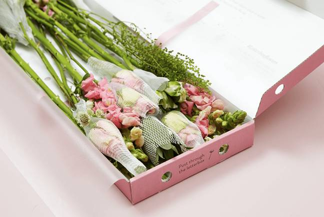 Bloom & Wild's letterbox flowers are a great option (Credit: Bloom & Wild)