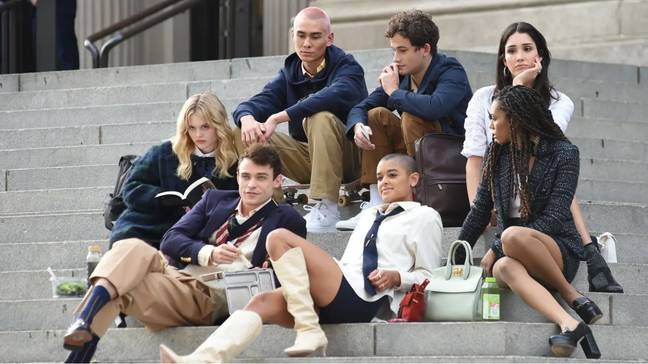 The Gossip Girl reboot will be released in July (Credit: HBO Max)