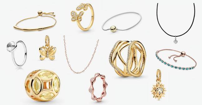 There are tonnes of pieces of jewellery with huge discounts (Credit: Pandora)