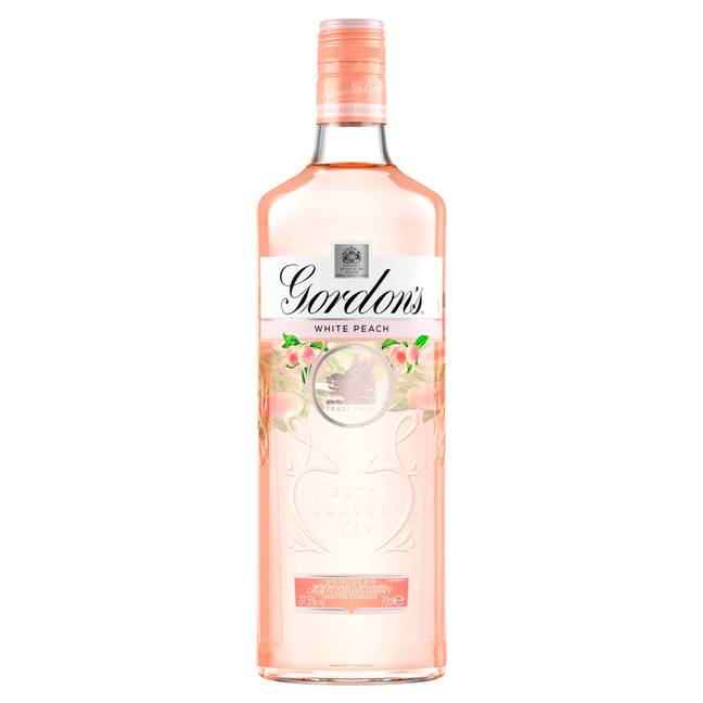 The White Peach gin is £13 a bottle in Asda (Credit: Facebook)